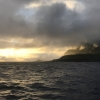 Early morning reanchor to herald bay Futuna for new day's clinic