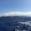 Haze of erupting Ambae