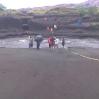 Rescue of swedish people stranded on lake siwi on Tanna Island